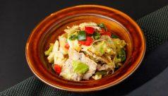 豚肉と野菜の生七味炒め
