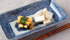 豆腐の味噌漬け 大葉巻き大根の味噌漬け
