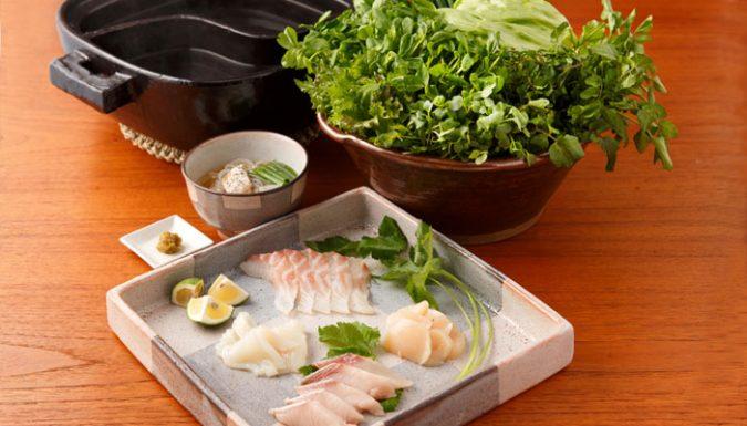 海鮮しゃぶしゃぶ鍋