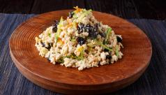 粉豆腐の炒り煮(南信州)