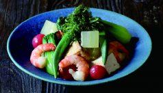 冬瓜と旬野菜のおひたし