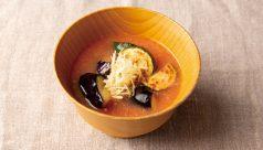 【味噌の日】夏野菜とトマトの味噌汁