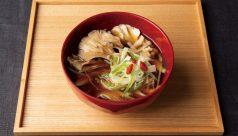 【味噌の日】舞茸とクコの実の薬膳味噌汁