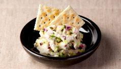 里芋と漬物のポテトサラダ