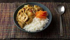 根菜と胡麻ペーストのカレー