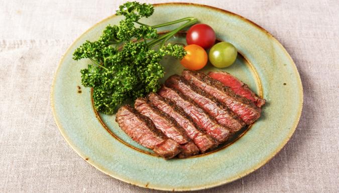 牛肉のごま味噌漬け