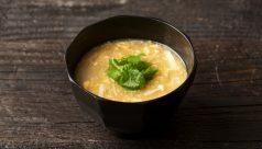 【味噌の日】エノキと三つ葉のかき玉味噌汁