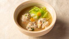 【味噌の日】春きゃべつと新野菜のつくね味噌汁