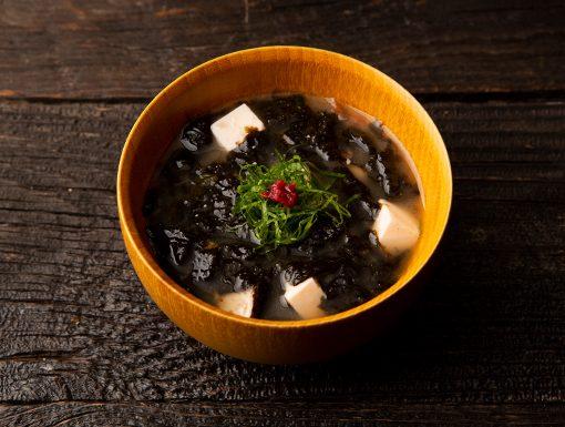 【味噌の日】海苔とねり梅の味噌汁